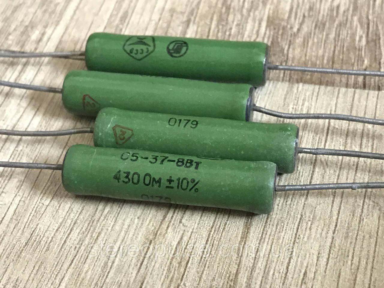 Резистор С5-37 8Вт 4.7 Ом 10%