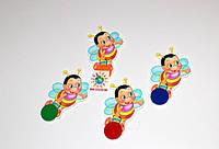 Магнитный стенд для крепления рисунка магнитом Пчёлки