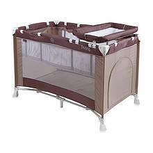 Кровать-манеж PENNY 2 PLUS BEIGE