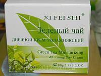 Очищающий увлажняющий крем от морщин «Зеленый чай» XI FEI SHI, 80г
