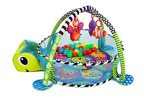 Детский развивающий коврик черепаха