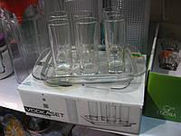 Набор стопок для водки с подносом