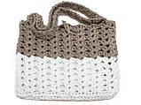 Вязаная крючком сумка - Эко сумка - Сумка на плечо, фото 3