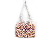 Вязаная крючком сумка - Белая большая сумка - Сумка на плечо, фото 1