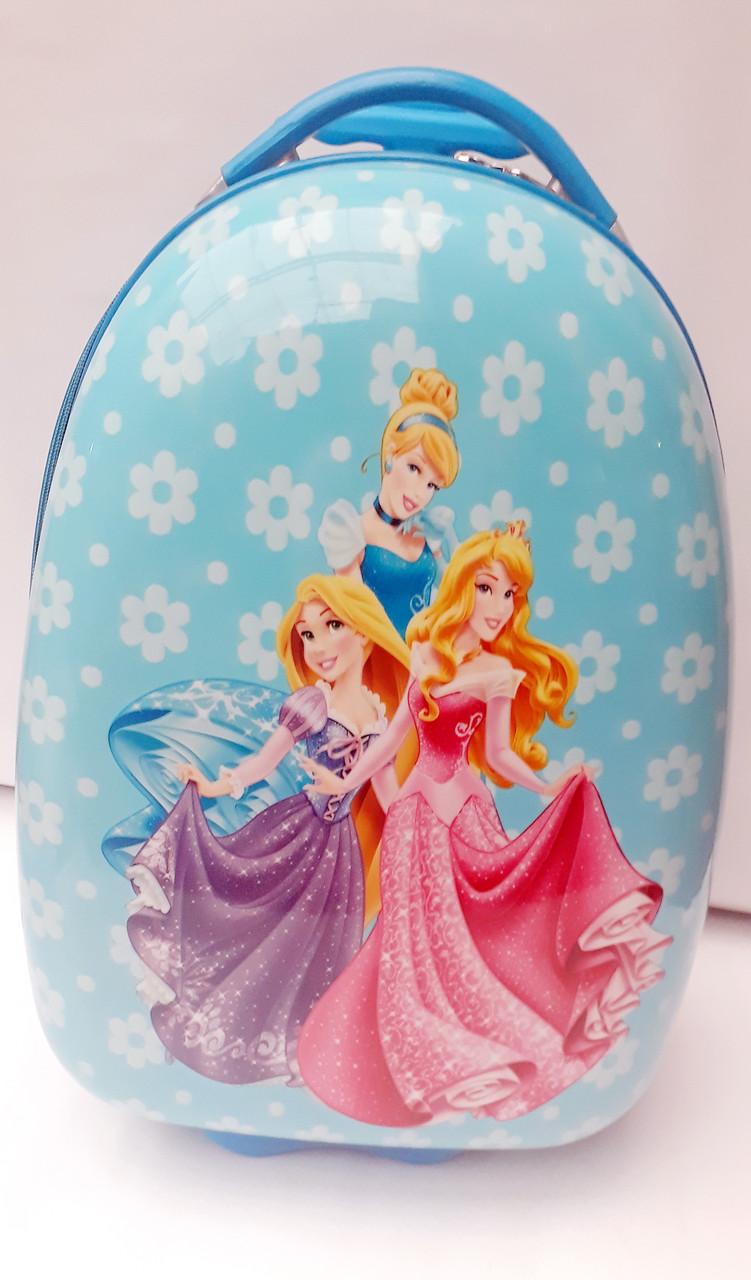 Детский пластиковый чемодан Принцессы