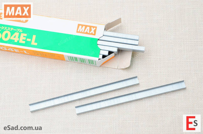 Скоби до степлера HT-B MAX 604E-L, фото 2