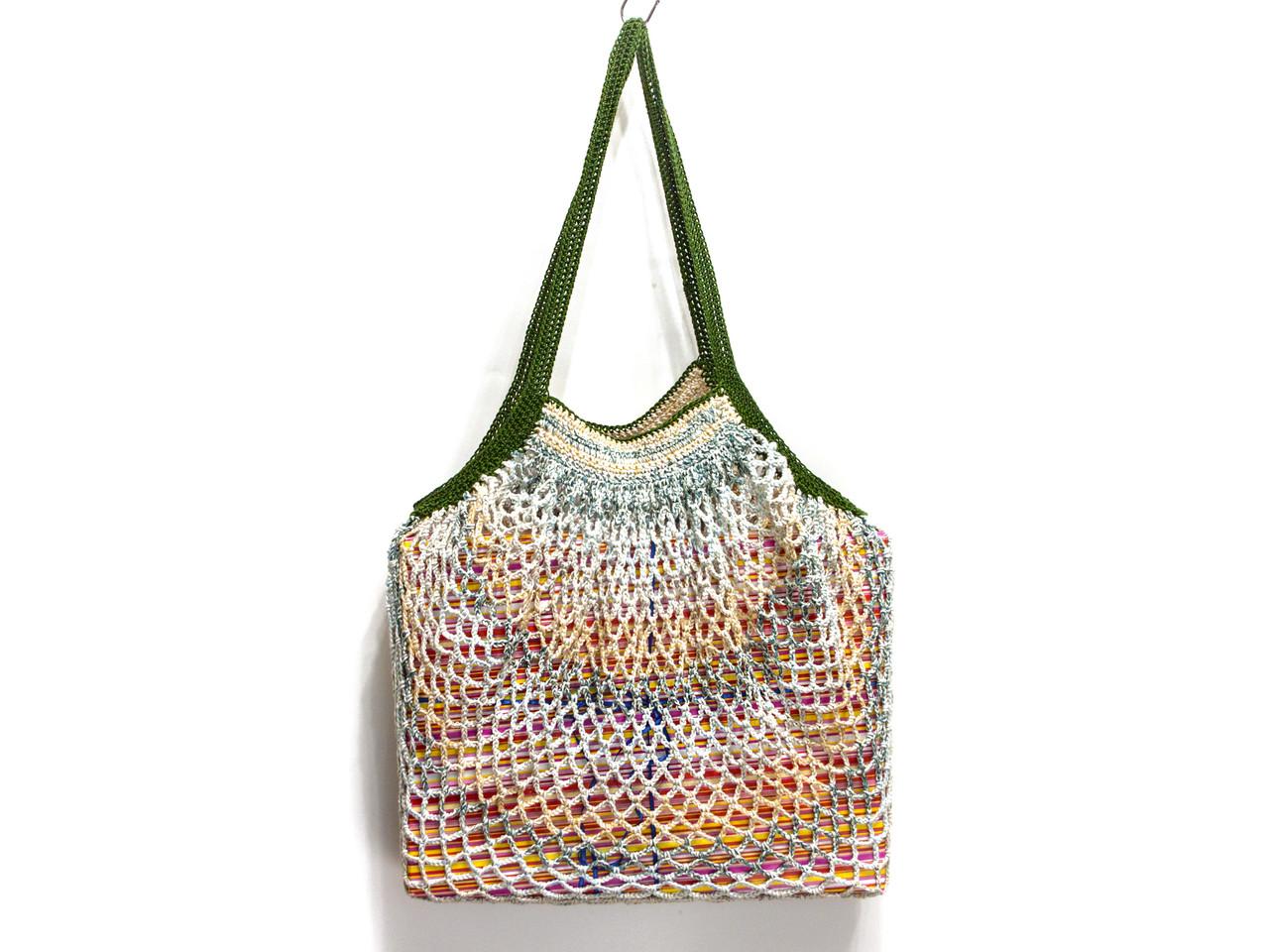 Вязаная крючком сумка - Хиппи сумка - Сумка на плечо