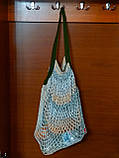 Вязаная крючком сумка - Хиппи сумка - Сумка на плечо, фото 5
