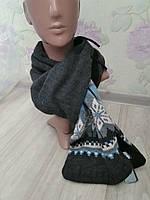 Шикарный длинный теплый шарф на флисе от C&A Германия