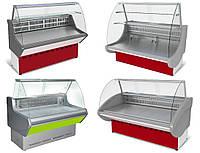 Витрина холодильник. Торговые холодильные ветрины по цене бу