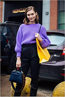 С чем сочетать ультрафиолет в одежде?