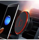 Держатель для телефона в авто HOLDER magnetic Wireless charger QI