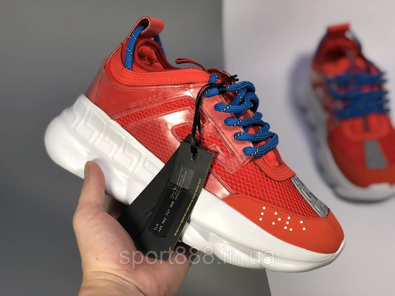 Versace Chain Reaction мужские и женские кроссовки  продажа, цена в ... ebbdbe909f2