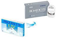 Линзы Freguency  58 UV —  замена