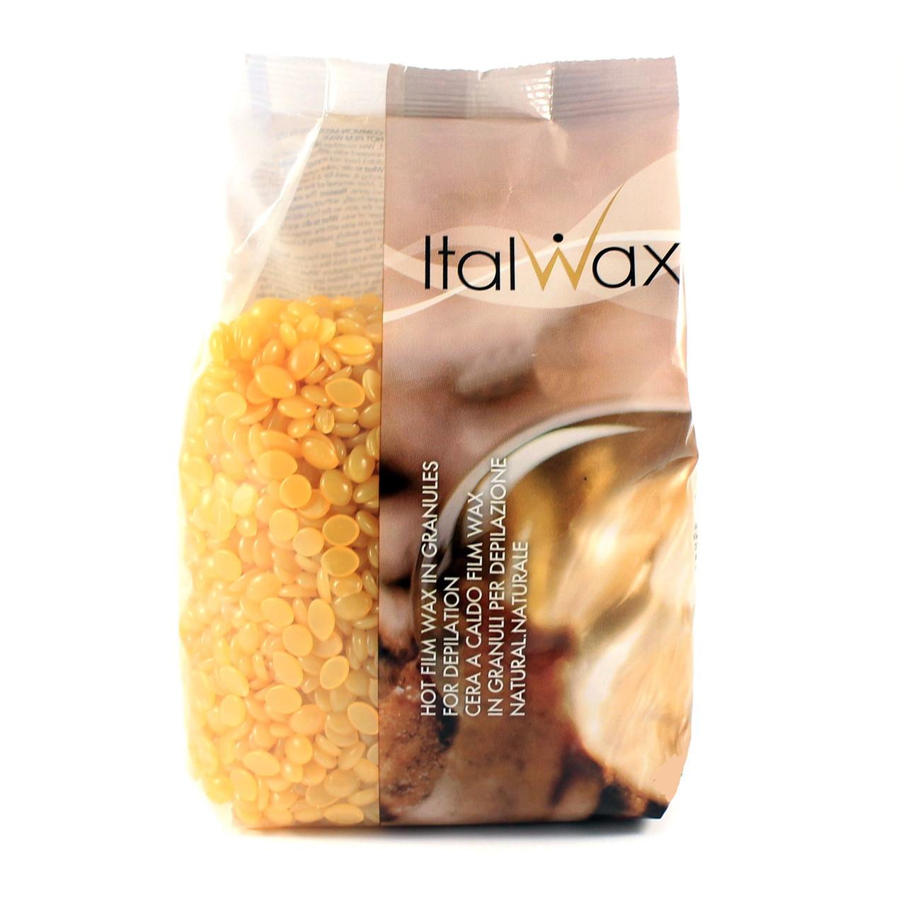 Воск в гранулах пленочный, натуральный Italwax, 1 кг
