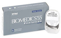 Линзы  Biomedics 55 Evolution