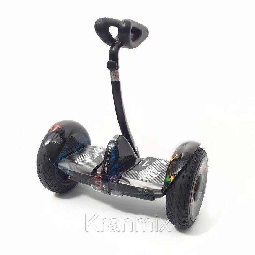 Segway Черный xiaomi Ninebot Mini Pro сигвей сяоми Гіроскутери гіроборди сігвеї Ninebot Pro Молнии