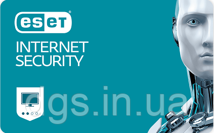 ESET Internet Security 4 ПК 1 Год