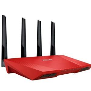 Беспроводная точка доступа Asus RT-AC87U_R 802.11AC 2.4/5GHz Red