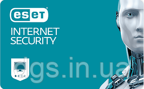 ESET Internet Security 4 ПК 1 рік Продовження