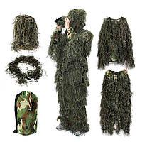 """Костюм """"Леший"""" (кикимора). Маскировочный костюм тактический НАТО. Усиленный комплект. BY MMB Германия"""