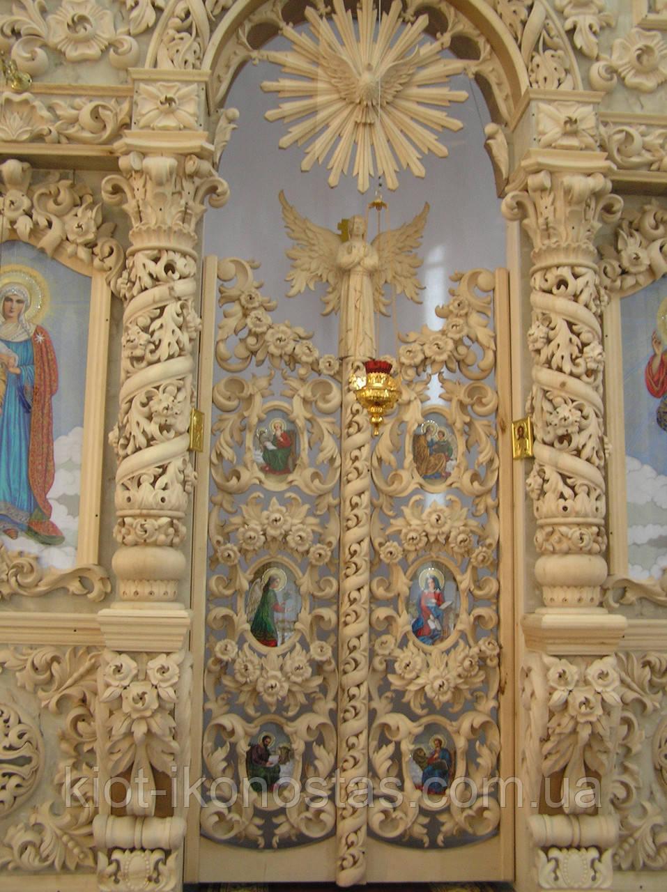 Царские Врата Барокко под позолоту