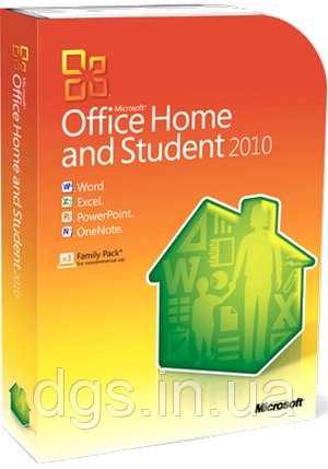 Офисное приложение Microsoft Office Home and Student 2010 32/64Bit Russian DVD BOX (79G-02139)