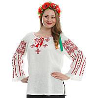 Украинская вышиванка. Бузок красный., фото 1