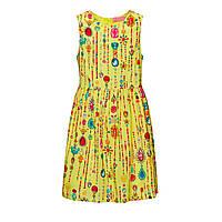 Faberlic Платье без рукава для девочки цвет лимонный размер 92 98 104 110  116 122 128 67c49febf2430