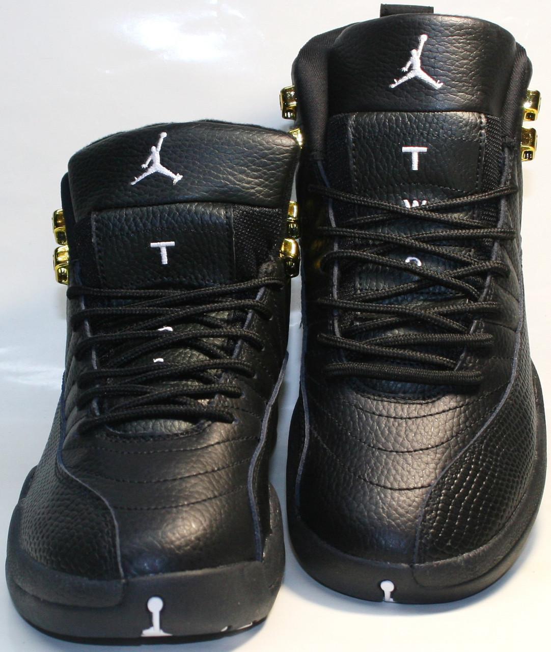 83ba0e0e Баскетбольные кроссовки черного цвета nike air jordan 12 retro - ТЕХНОЛЮКС в  Запорожье