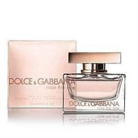 Женская туалетная вода Dolce&Gabbana Rose The One (нежный цветочный аромат)  копия, фото 1