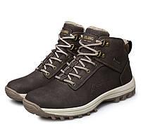 Стильные мужские зимние ботинки с мехом 5 цветов