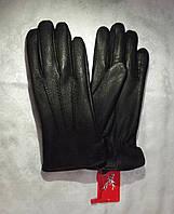 Перчатки мужские зимние из натуральной кожи
