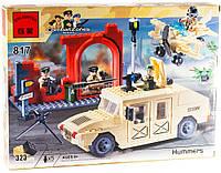Конструктор Brick Военный джип Хаммер 817, фото 1