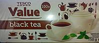 Чай черный TESCO VALUE (100 пак.)
