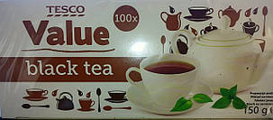 Чай черный TESCO VALUE (100 пак.) , фото 2