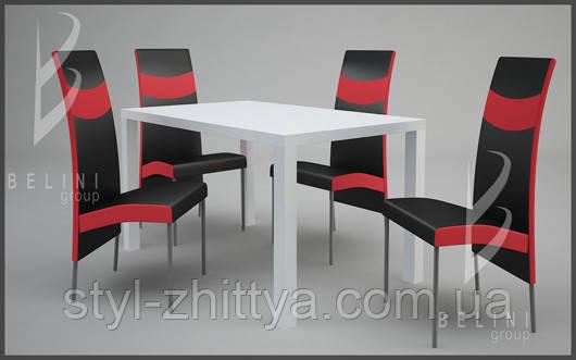 Набор стол Лиза И черешня 120x75 +
