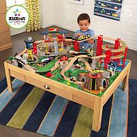 Дерев'яний ігровий набір-конструктор зі столом Kidkraft