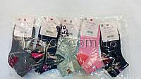 Детские носки для девочек Роза, 10-12лет, хлопковые 10шт. 3836, фото 1