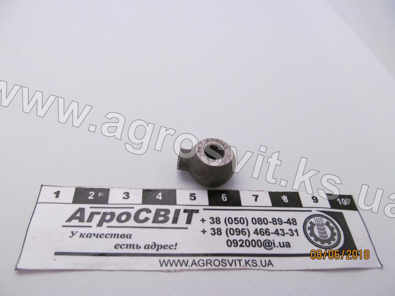 Наконечник 6 мм. (под трубку 4 мм.) для пайки, каталожный №
