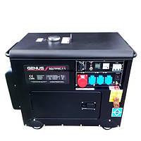 Дизельный генератор Genus DG6700RC-S-3 (+ATS)