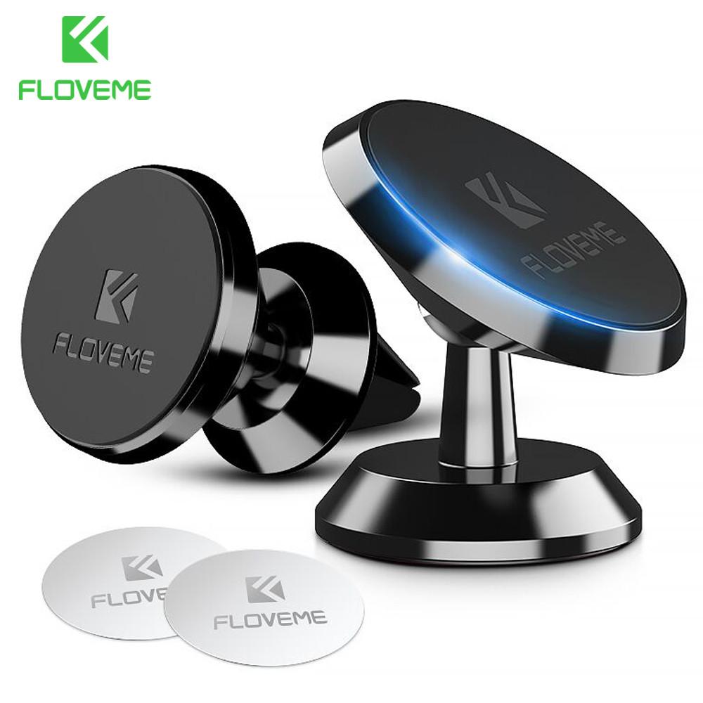 Универсальный автомобильный держатель-магнит для мобильного телефона