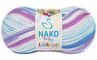 Пряжа для ручного вязания NAKO Baby Lolipop/НАКО Беби Лолипоп