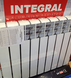 Алюминиевый радиатор отопления INTEGRAL 500 х 100 Украина