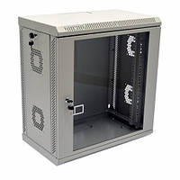 Шкаф 12U, 600х350х640 мм (Ш*Г*В), акриловое стекло, серый