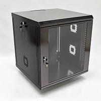 Шкаф 12U, 600х500х640 мм (Ш*Г*В), акриловое стекло, черный