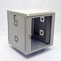Шкаф 12U, 600х600х640 мм (Ш*Г*В), акриловое стекло, серый