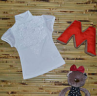 Нарядная блуза на девочку (6 лет.)