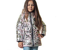 Осенняя курточка на девочки Золушка (3-6 лет), фото 1