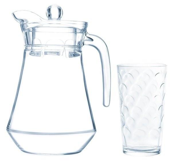 Набір для напоїв Arcopal Dome 7пр. (Глечик 1,3 л і 6 склянок 270 мл)